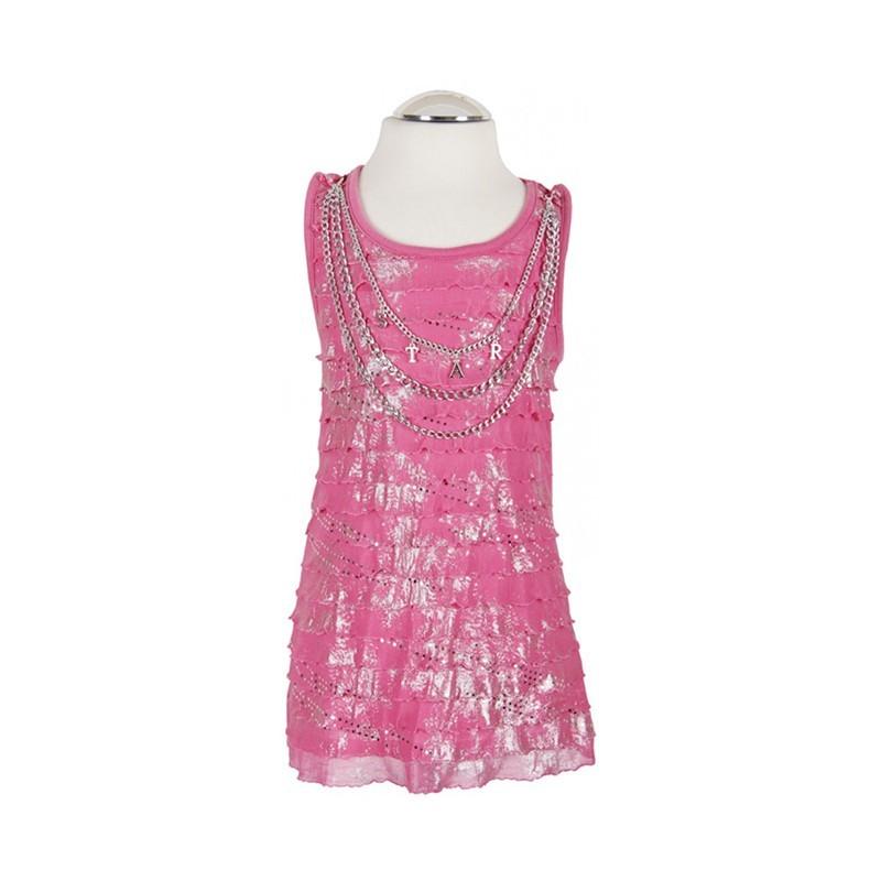 af30c2bbf2 Rózsaszín ruha lánccal